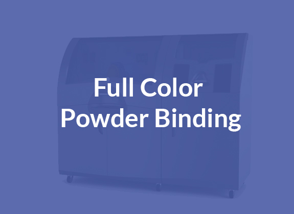 Full Colour Powder Binding